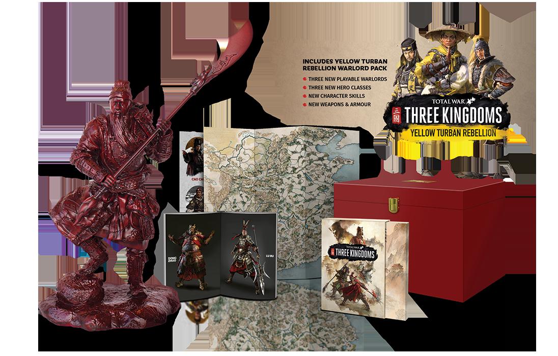 Коллекционное издание Total War: THREE KINGDOMS  - Что в наборе?