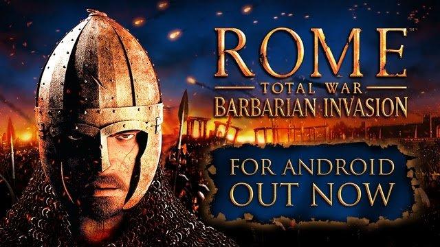 ROME: Total War - Barbarian Invasion теперь на Andoid