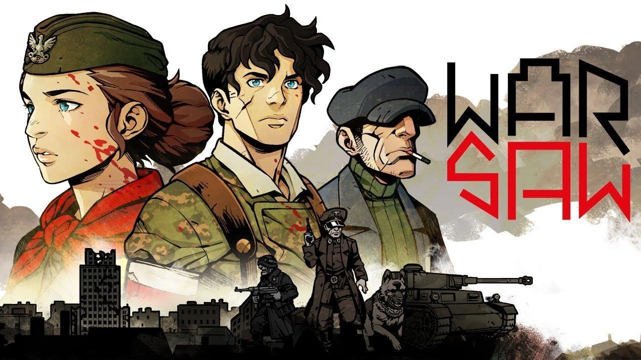 4 сентября выходит WARSAW - тактическая RPG о Варшавском восстании